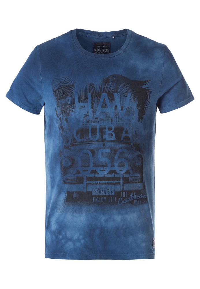 Batik-Shirt mit Print