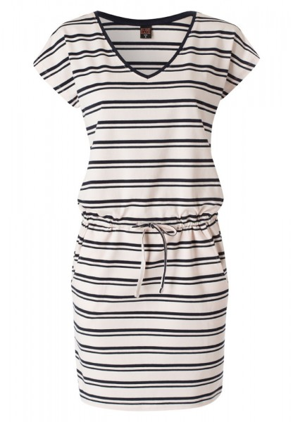 Jerseykleid mit All-Over-Muster