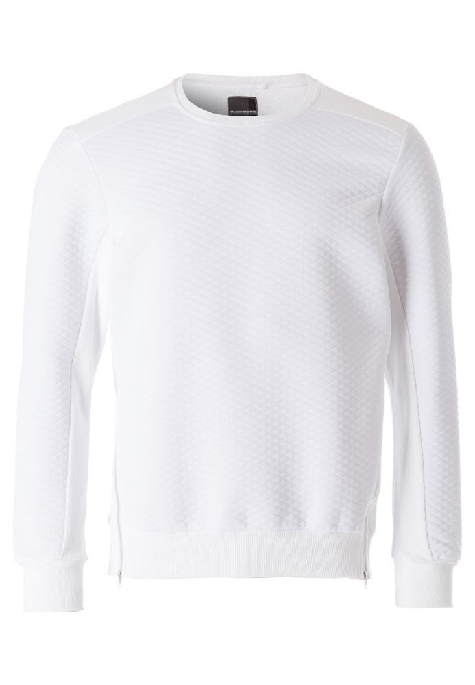 Sweatshirt mit Struktur-Muster