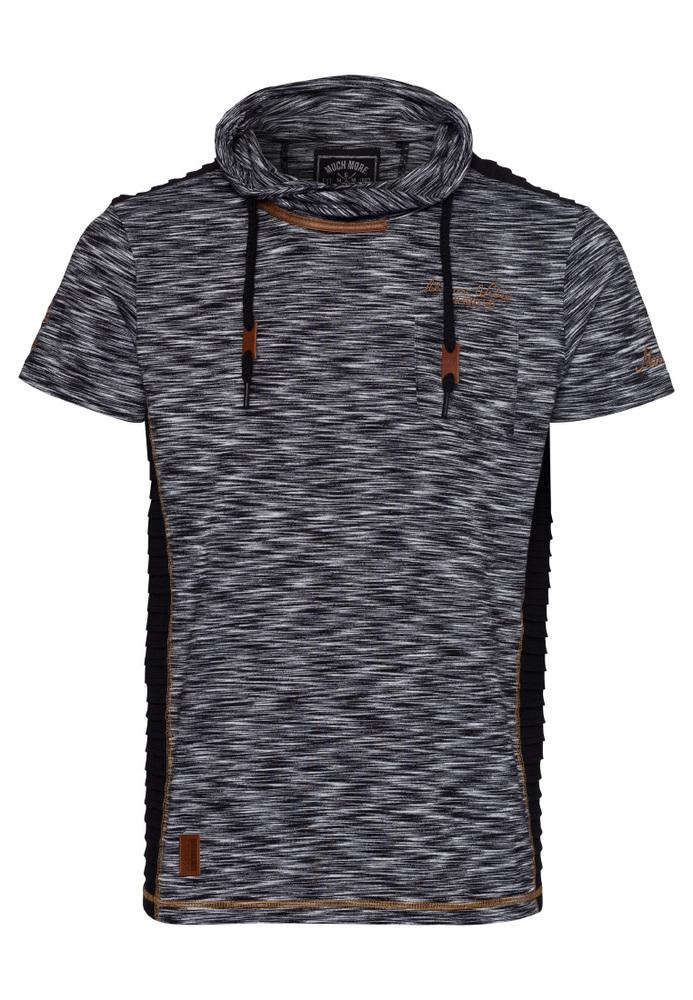 T-Shirt mit Schalkragen