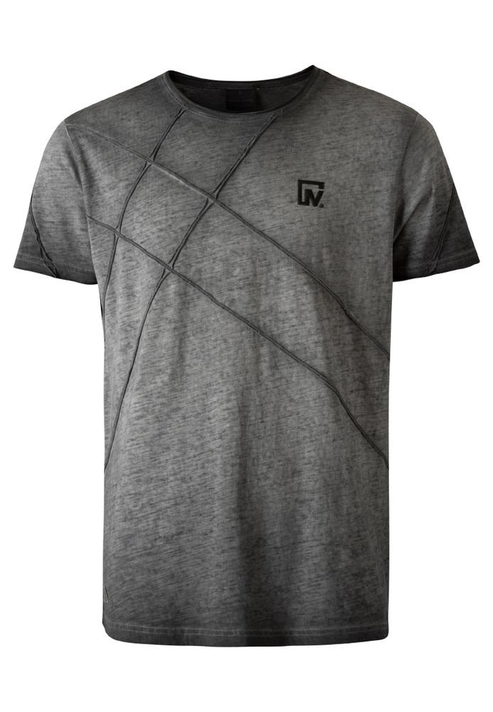 T-Shirt mit Emblem