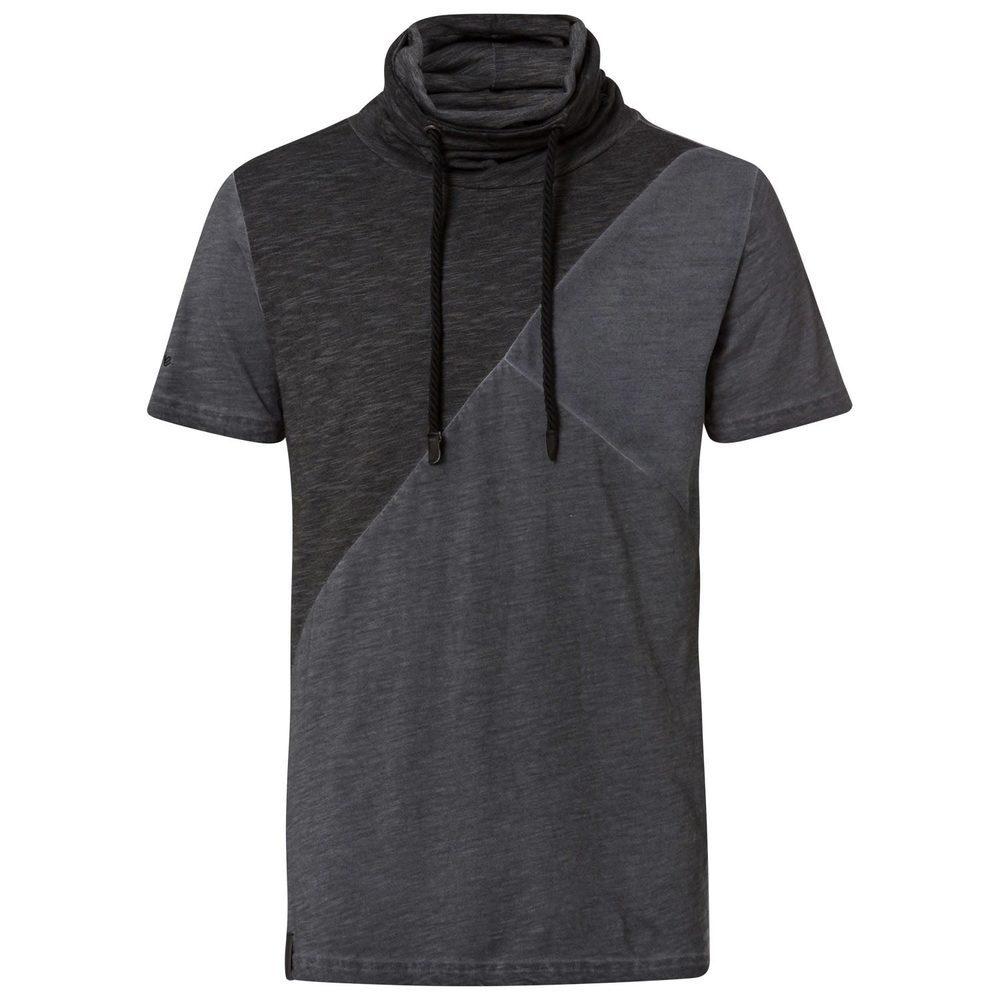 T-Shirt mit Turtleneck
