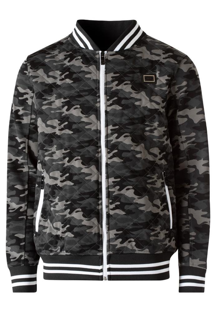 Sweatjacke im Camouflage-Look