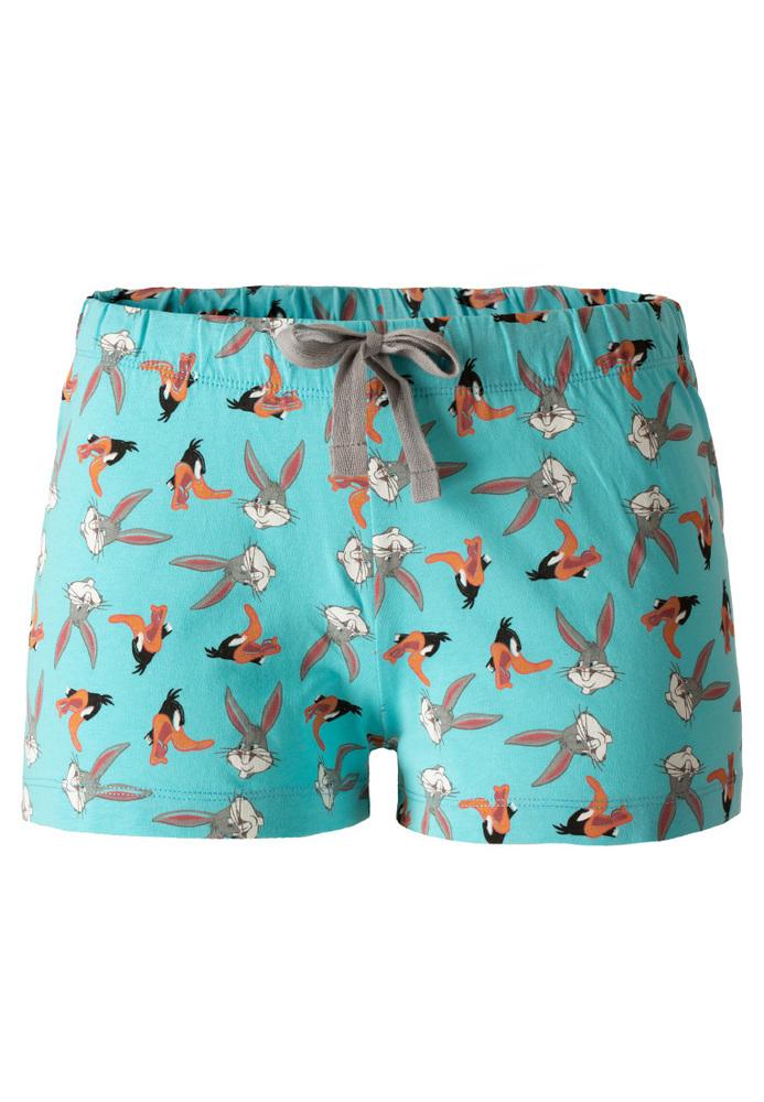 Pyjama-Shorts mit Bugs Bunny-Motiv