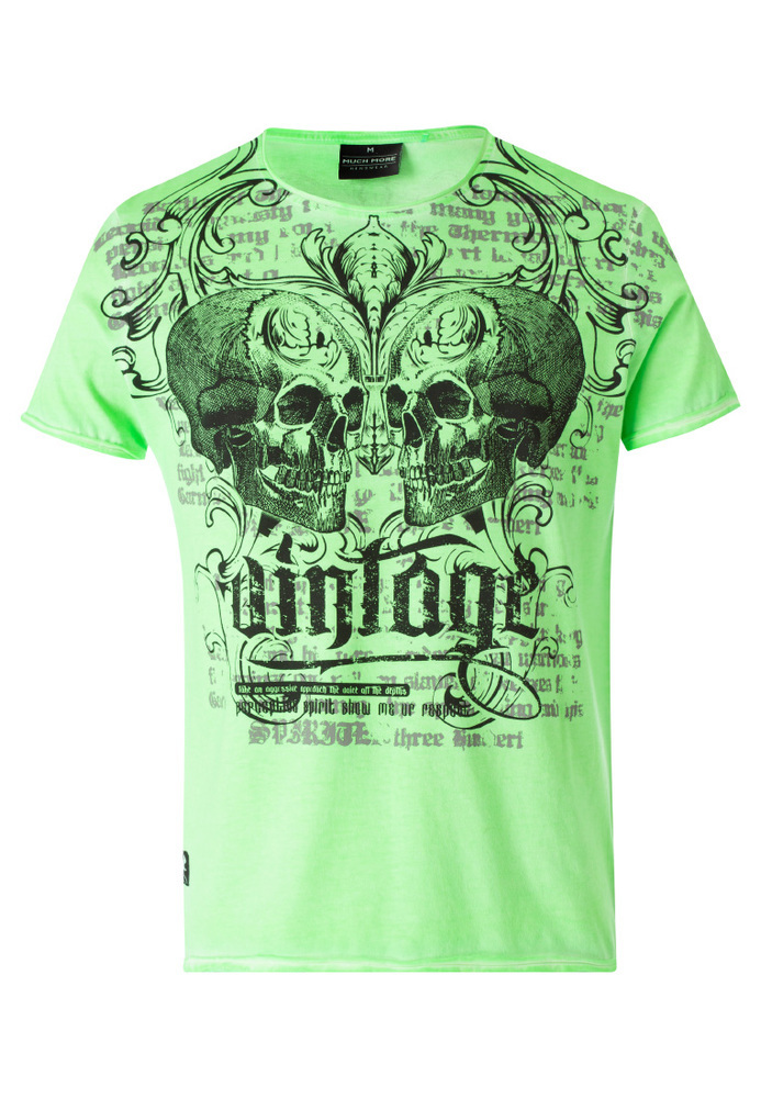 T-Shirt mit Totenkopf-Motiv