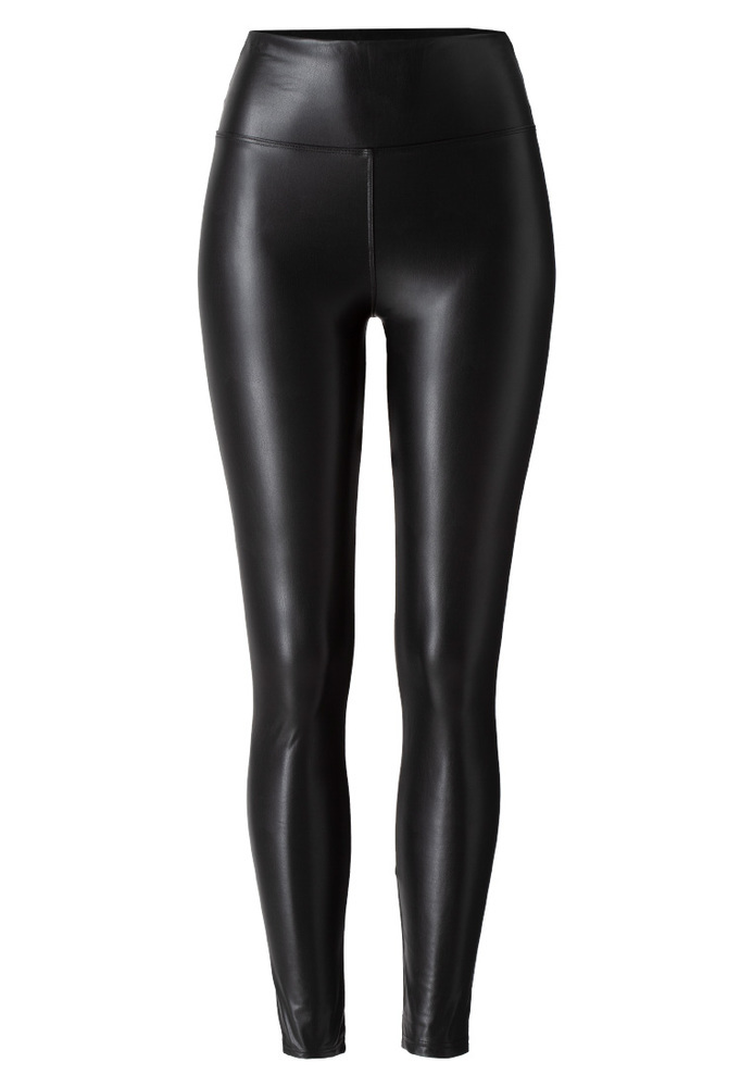 Leggings in Leder-Optik