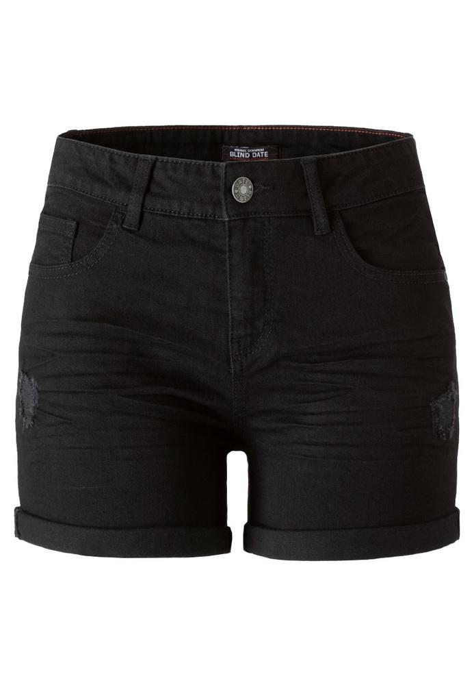 Basic Jeans-Shorts