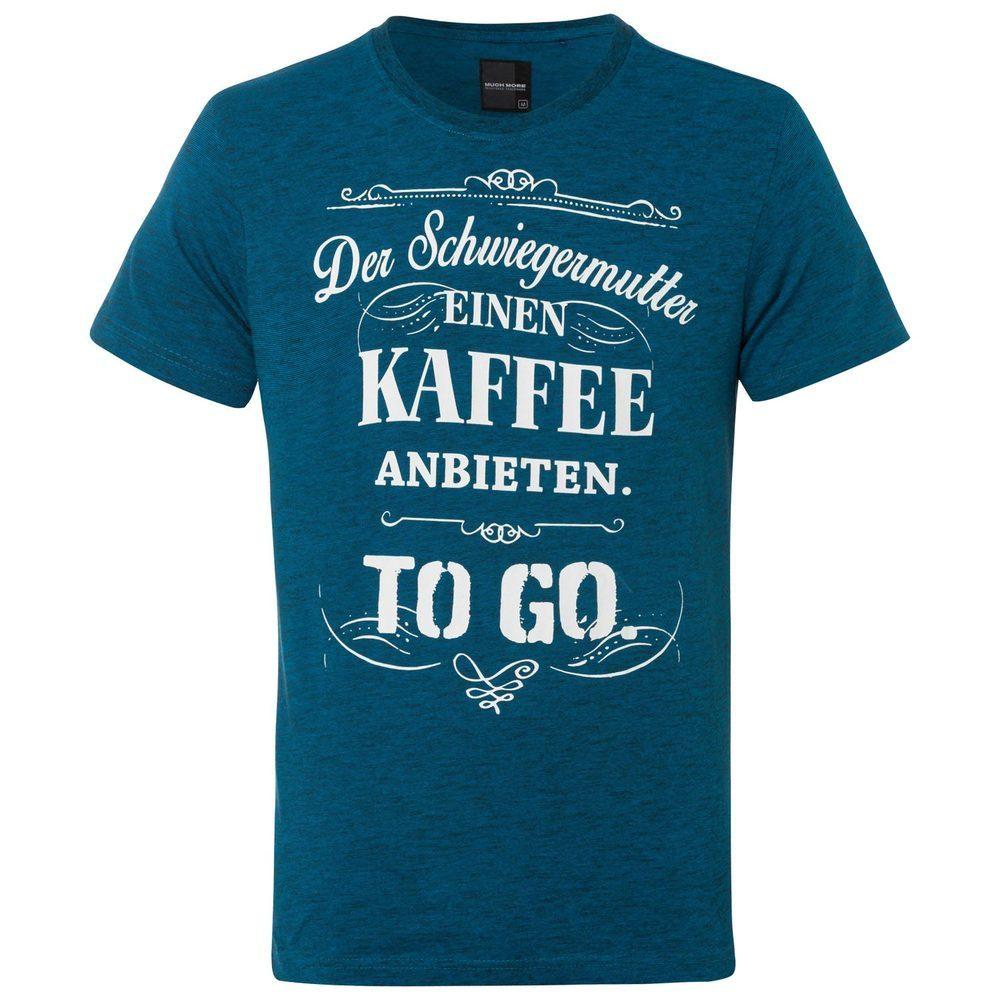 T-Shirt mit Sprüche-Druck