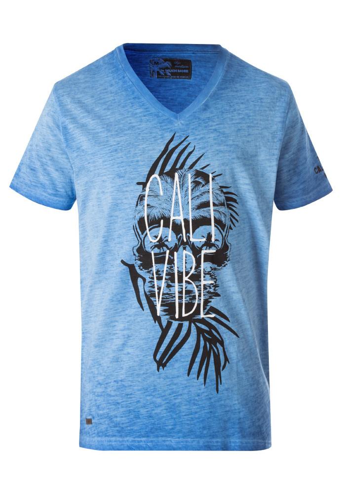 T-Shirt in Space-Dye-Optik