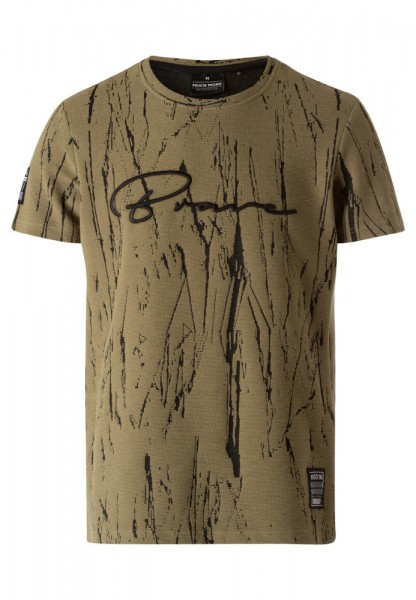 T-Shirt mit All-Over-Muster