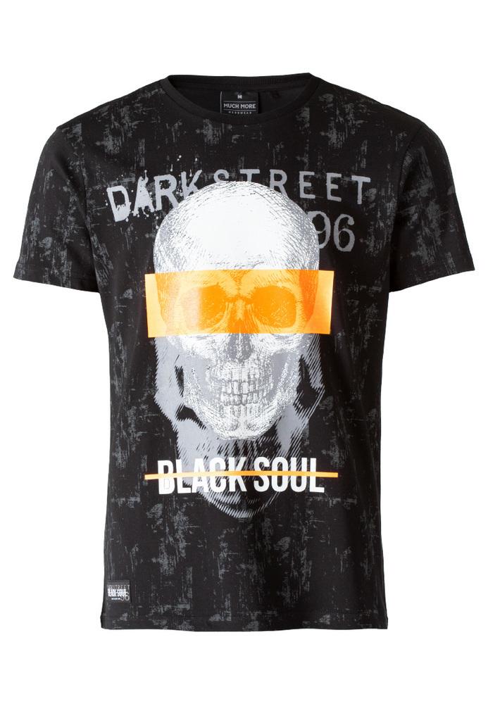 T-Shirt mit Totenkopf-Print