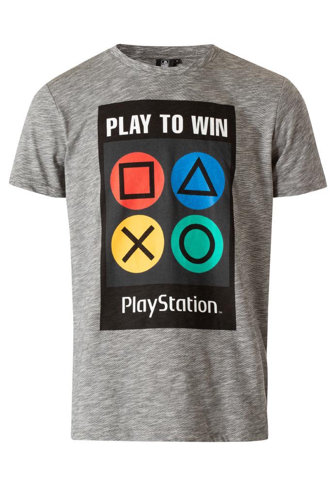 Playstation© T-Shirt mit Front-Print