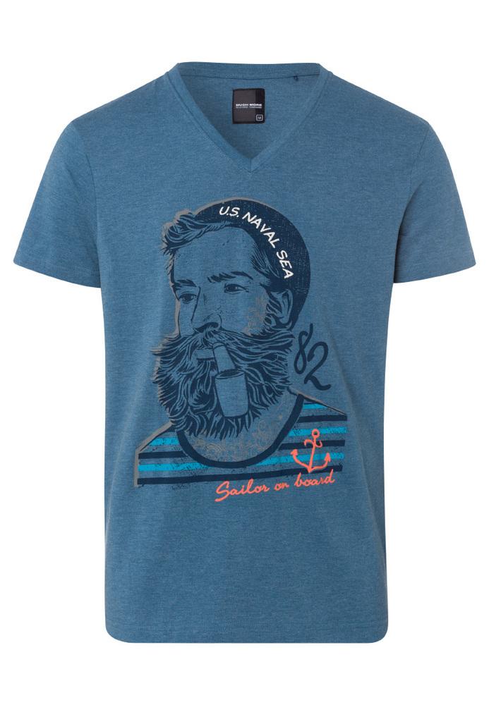 T-Shirt mit Seemann-Print