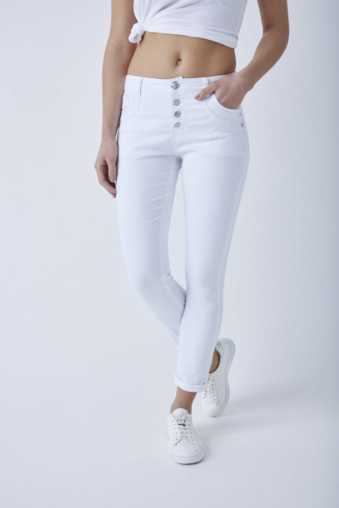 Ankle Regular Rise Jeans