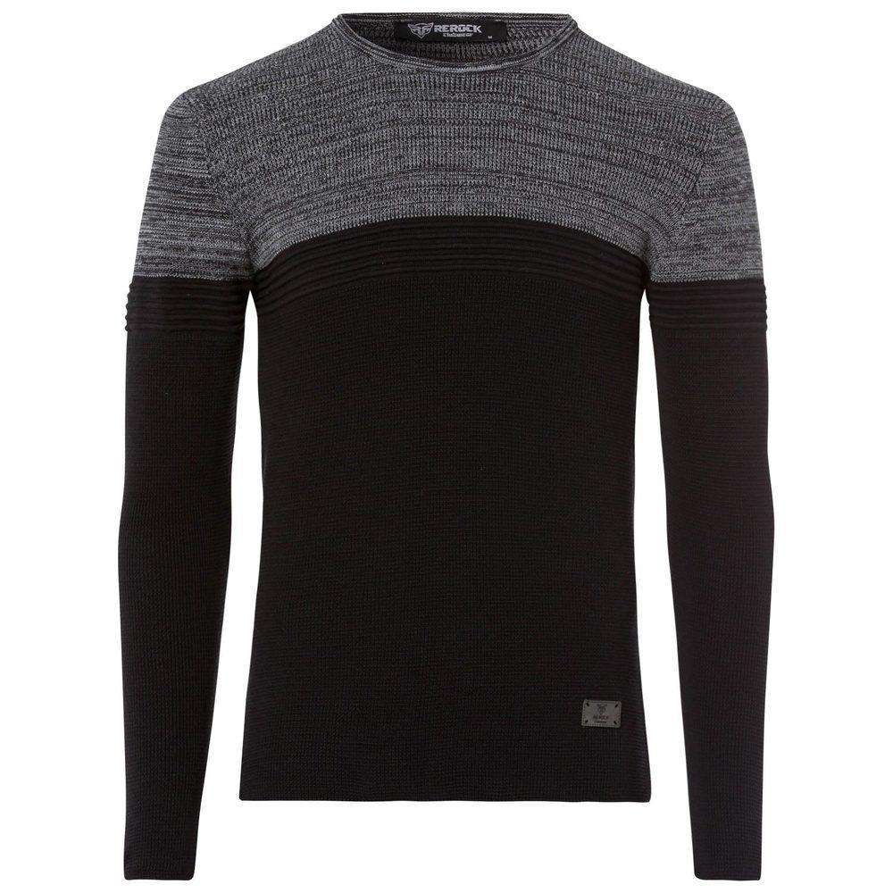 Pullover mit Struktur-Muster
