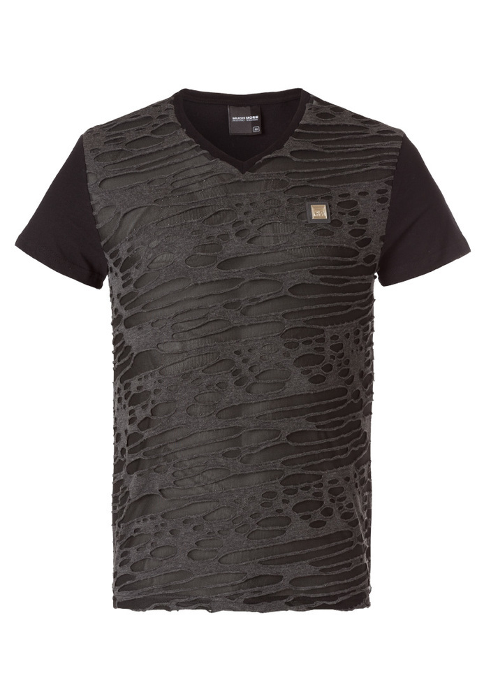 T-Shirt im Fetzen-Look