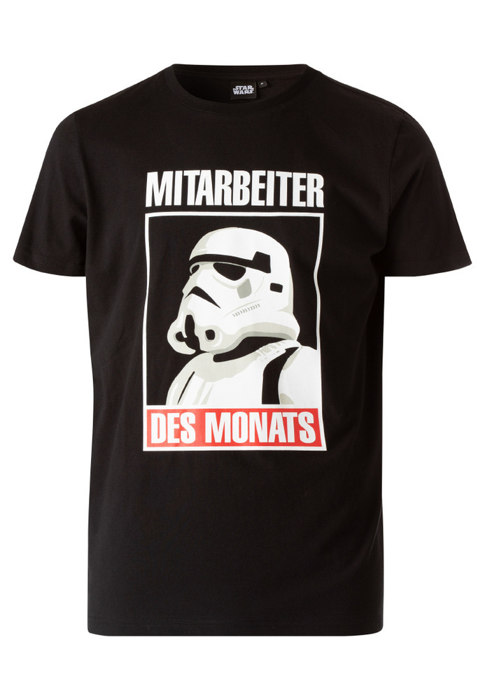 T-Shirt mit Star-Wars-Print
