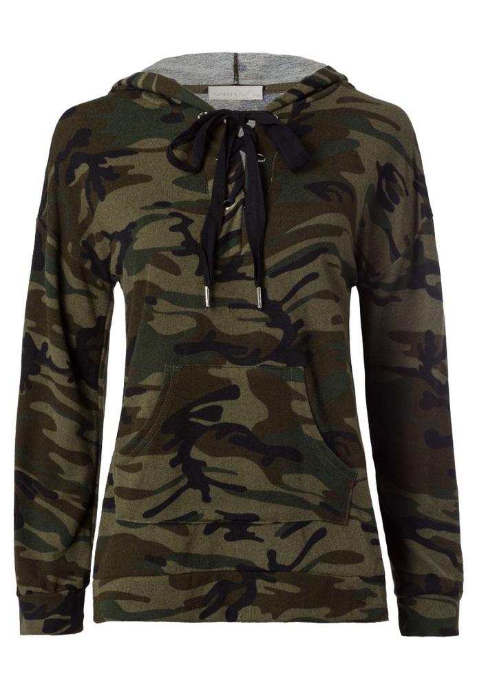 Camouflage Kapuzenshirt