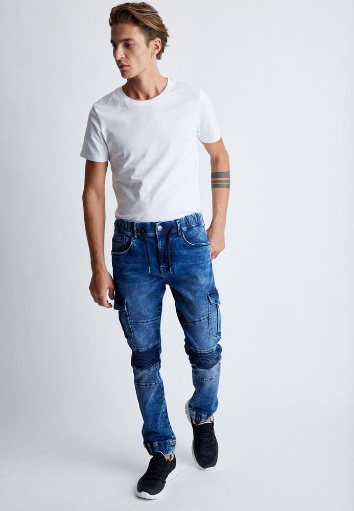 Jogger Regular Waist Jeans