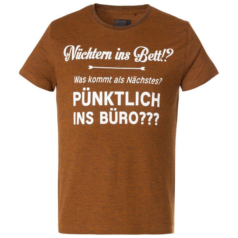 T-Shirt mit Sprüchedruck