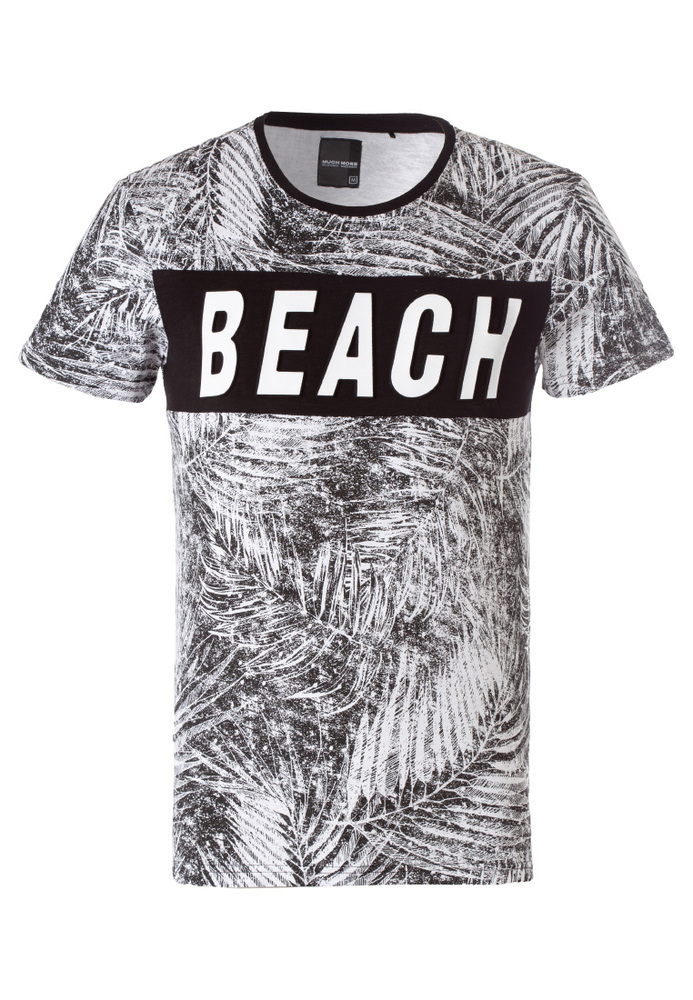 T-Shirt im Beach-Look