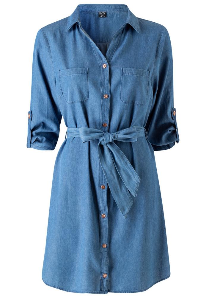 Jeans-Kleid
