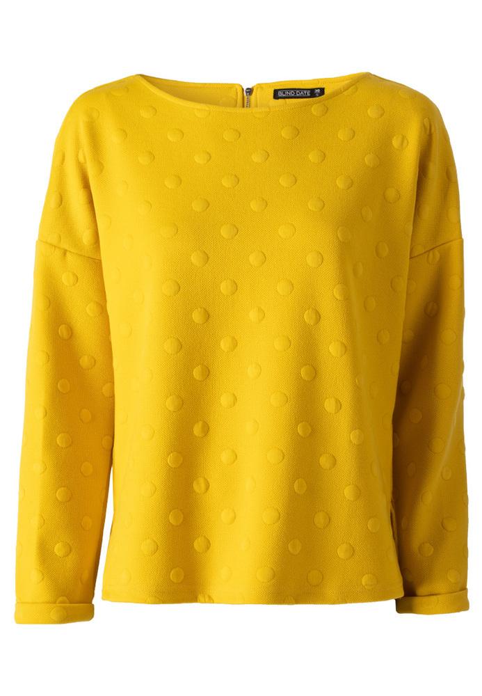 Sweatshirt mit Punkte-Muster