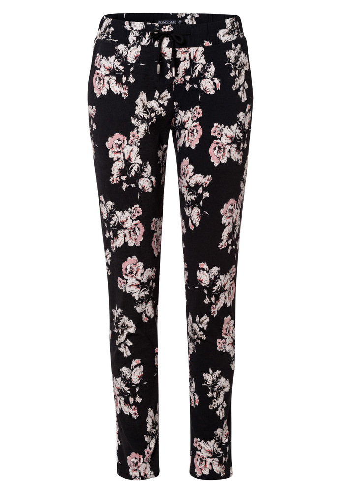 Stoffhose mit All-Over-Print