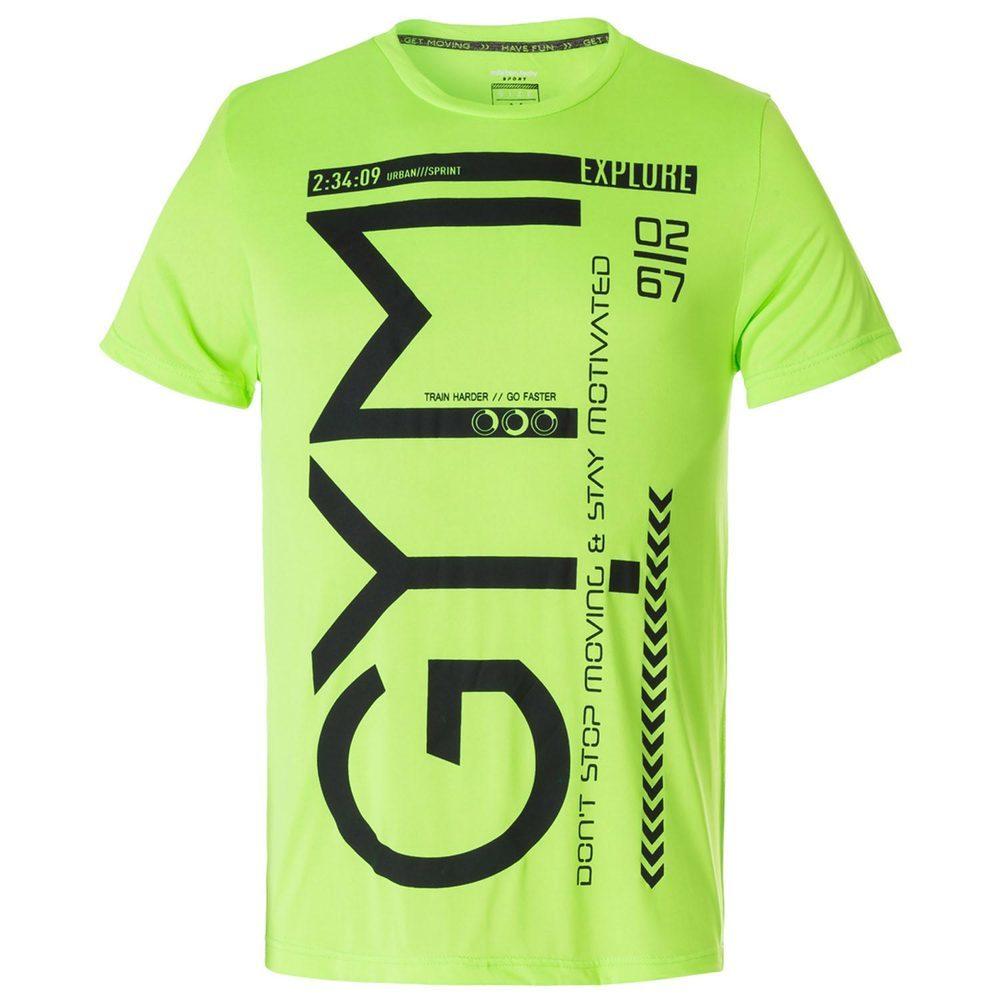 Fitness T-Shirt mit Print