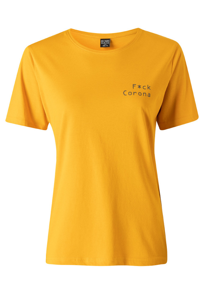 Anti-Corona-Shirt mit Schriftzug