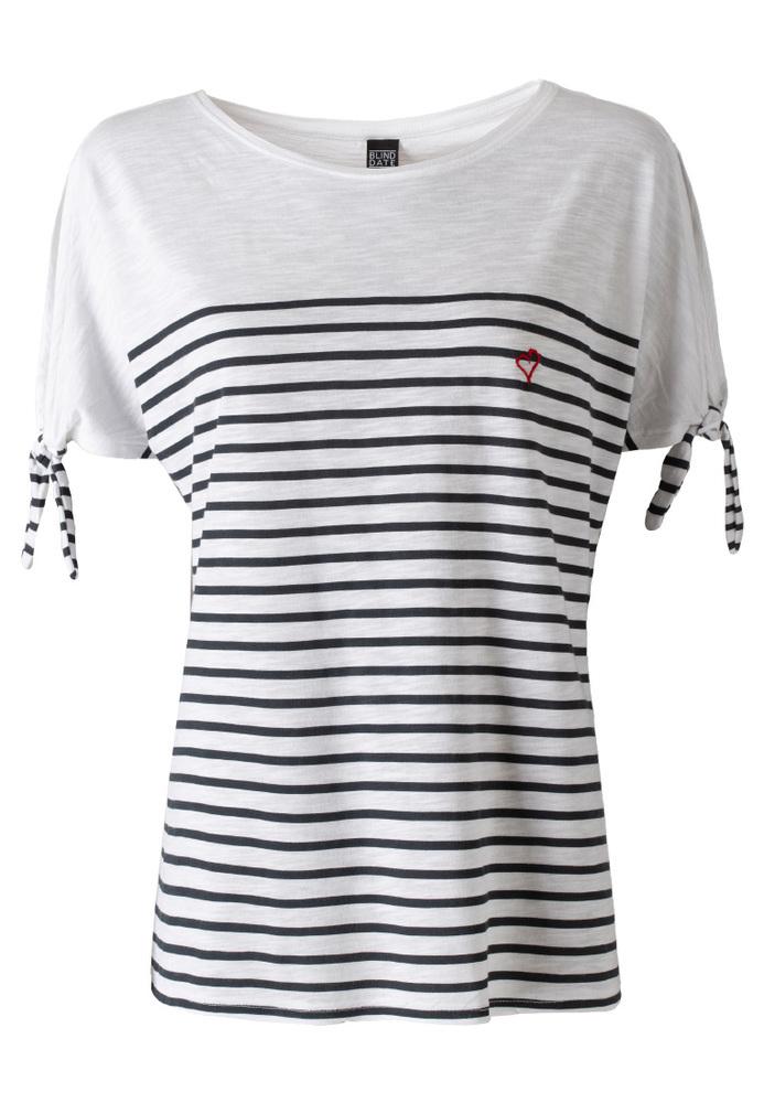 Shirt mit Streifen-Muster