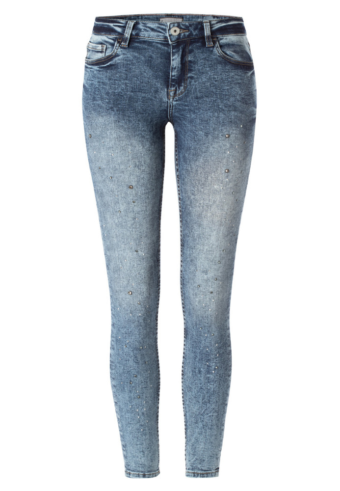 Skinny Regular Rise Jeans