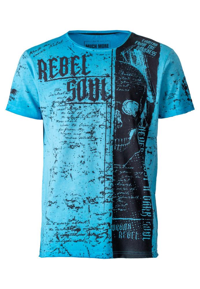 T-Shirt in Oilwash-Optik