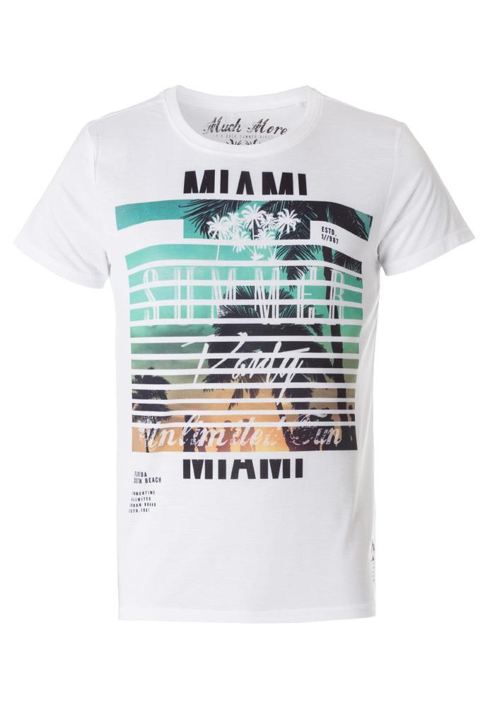 T-Shirt mit Sublimation-Print