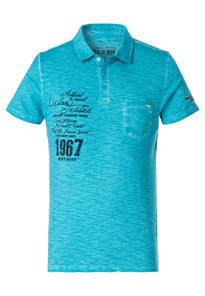 Polo Shirt mit Print