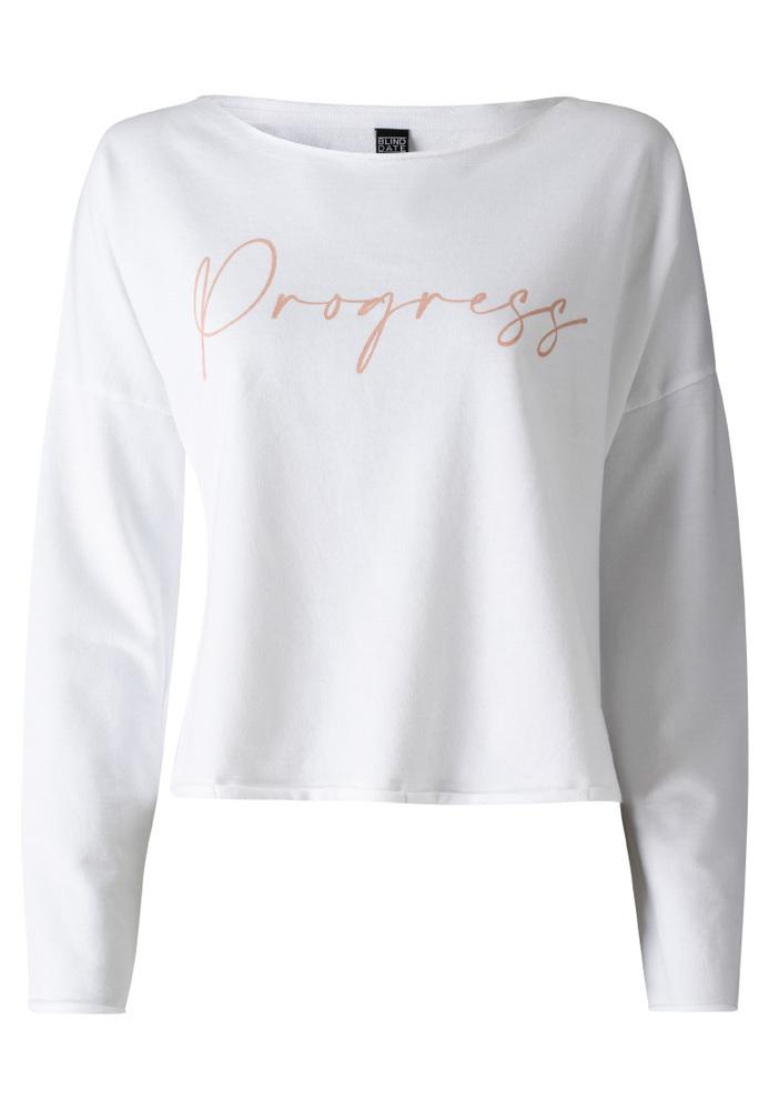 Sweatshirt mit Schriftzug-Print