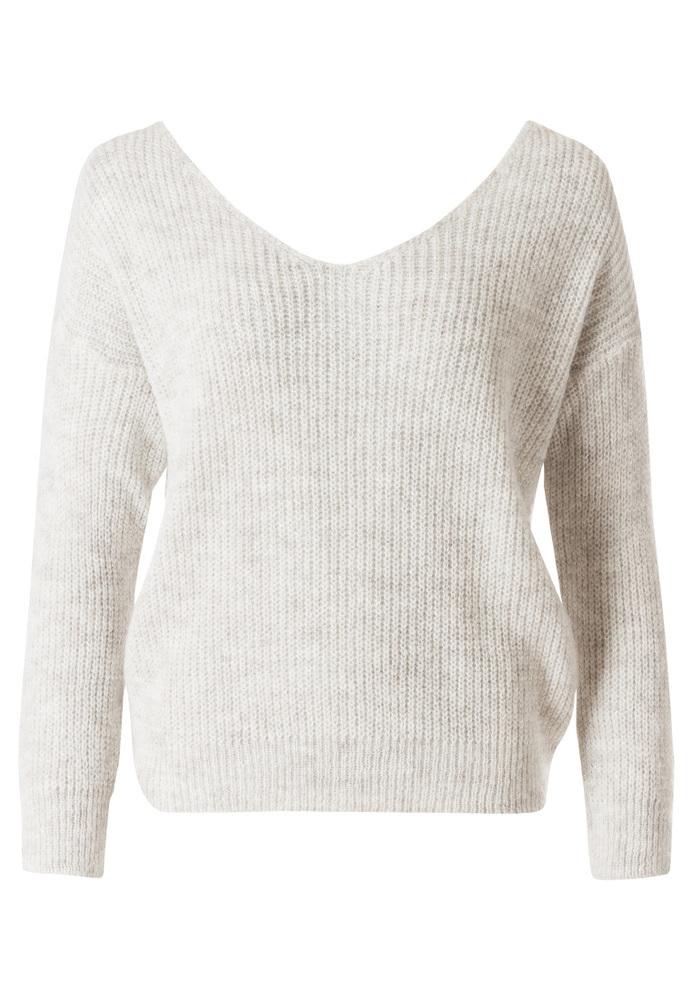 Pullover mit Knoten