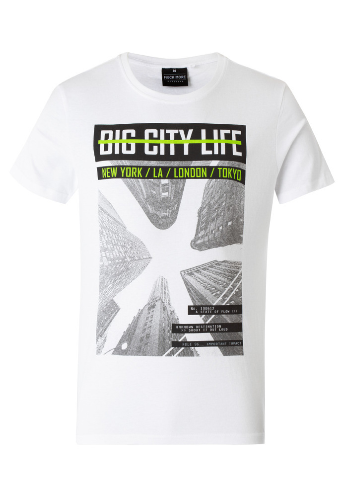 T-Shirt mit NYC-Print