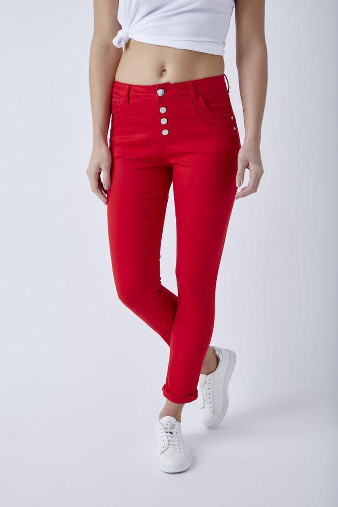 Skinny Highwaist Jeans mit hohem Stretchanteil