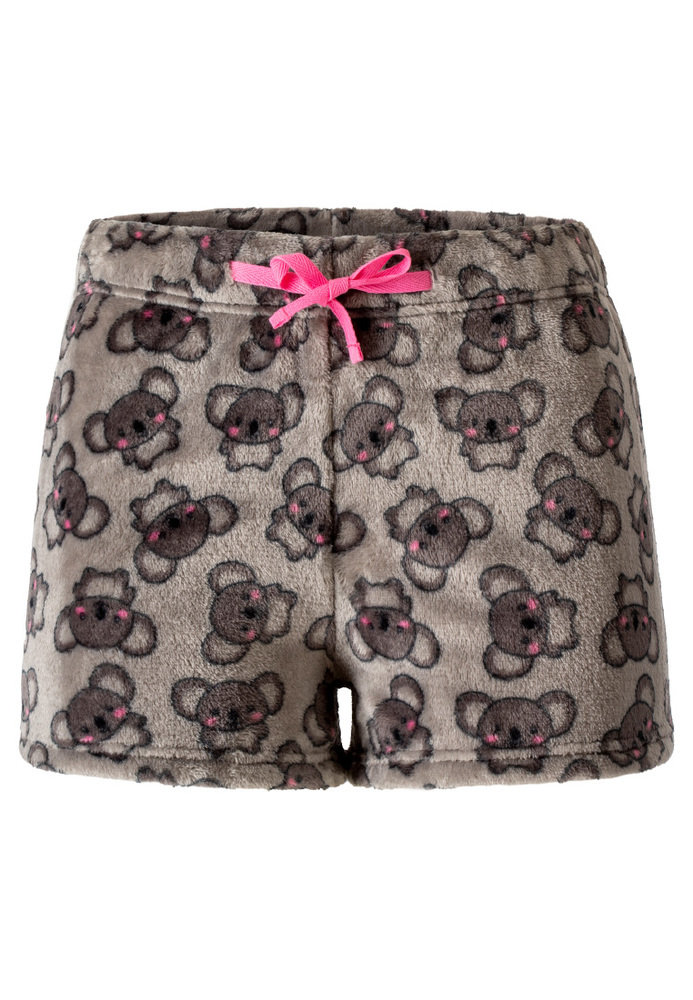 Pyjama-Shorts mit All-Over-Muster