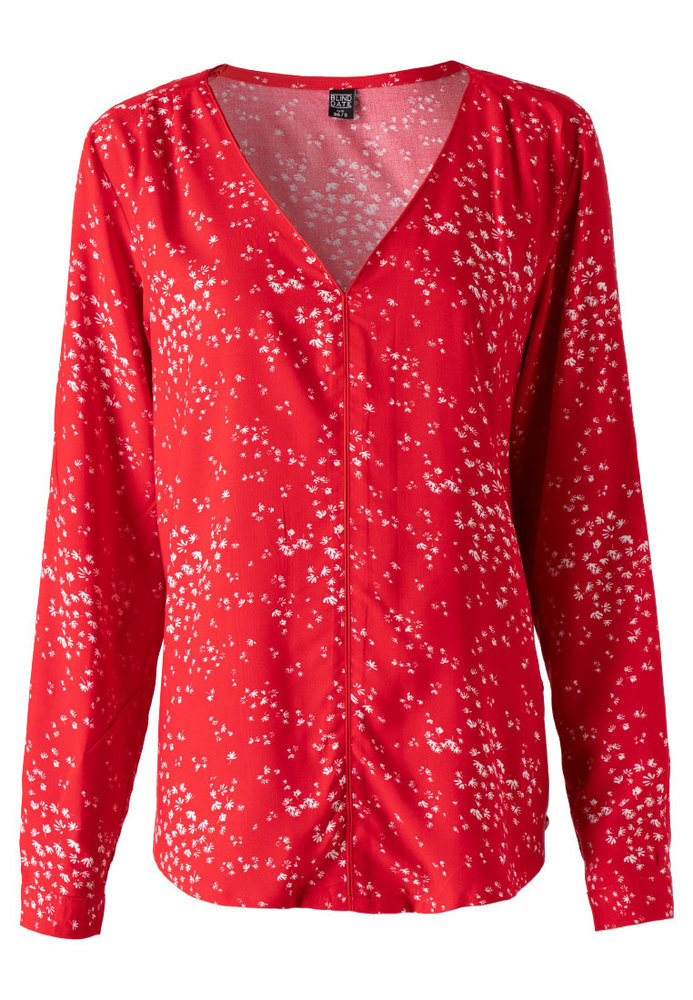 Bluse mit All-Over-Muster