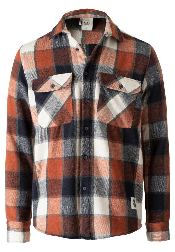 Hemdjacke mit Karo-Muster