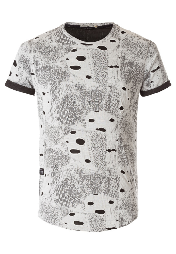 T-Shirt mit All-over Print