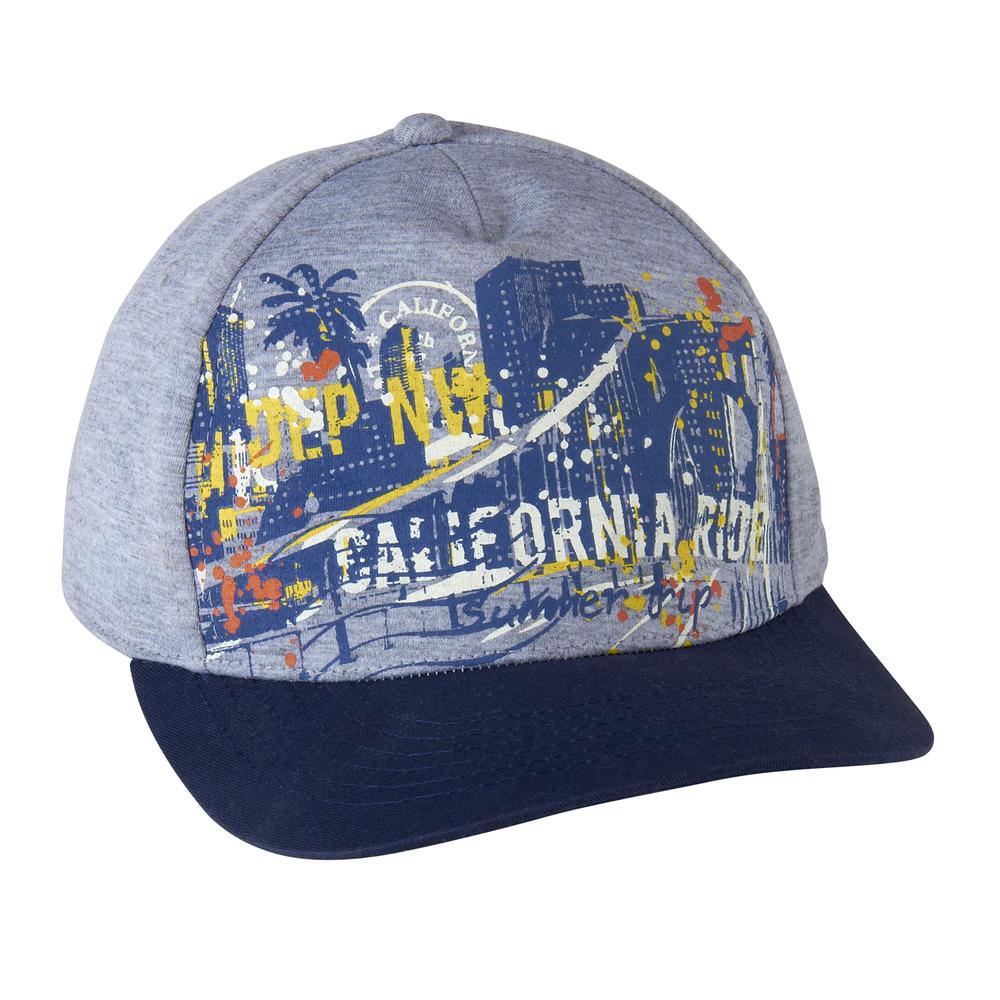 Jersey-Cap mit Print
