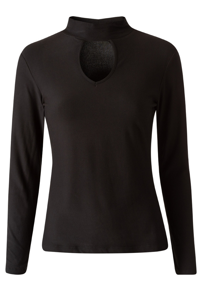 Longsleeve mit Cut-Out