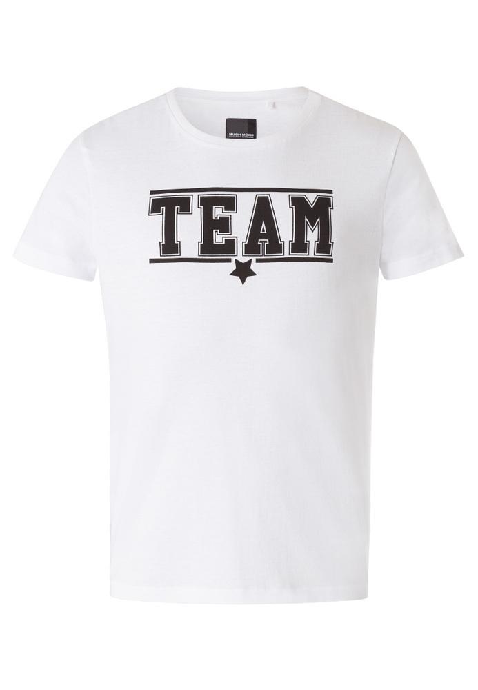 Partner-T-Shirt mit Sprüche-Druck
